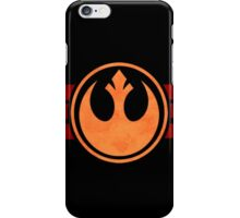 Rebel Alliance Logo iPhone Case/Skin