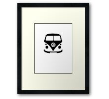 VW Camper Front Framed Print