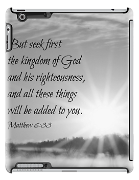 Matthew 6:33 Seek First by Kimberose