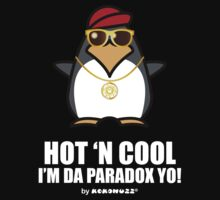 Hot and Cool, I'm da Paradox yo! - Hip Hop Penguin One Piece - Long Sleeve