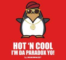 Hot and Cool, I'm da Paradox yo! - Hip Hop Penguin One Piece - Long Sleeve