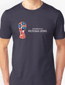 Russia 2018, Fifa World Cup logo (B) T-Shirt