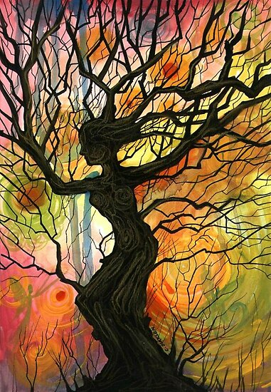 Tree of Life Series - 'Dusk' by Cherie Roe Dirksen