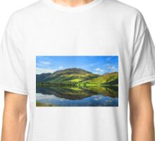 Rural scenic countryside loch nature landscape photography in scotland Classic T-Shirt