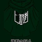 【1500+ views】Attack on Titan: Scouting Legion by Ruo7in