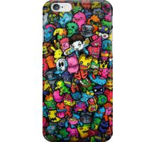 Doodle Monsters (iPhone & iPod) iPhone Case/Skin