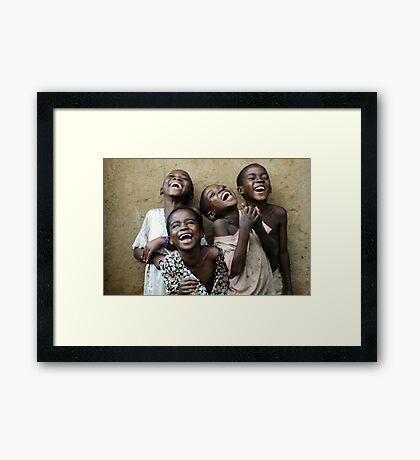 True Happiness Framed Print