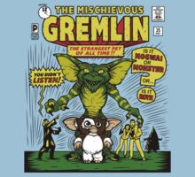The Mischievous Gremlin by nikholmes