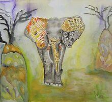 Psychedelic Africa by ArtByRuta