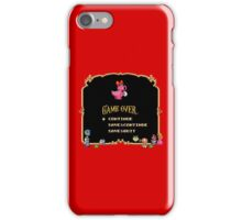 Game Over / Super Mario Bros. 2 iPhone Case/Skin