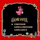 Game Over / Super Mario Bros. 2 by Studio Momo╰༼ ಠ益ಠ ༽