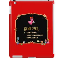 Game Over / Super Mario Bros. 2 iPad Case/Skin