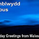 Penblwydd Hapus - Happy Birthday from Wales - Moonlit Beacons by digihill