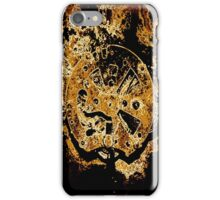 Rusty Clock Work iPhone Case/Skin