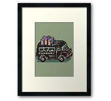 Runaway 5 (Tonzura Brothers) Bus - Earthbound Framed Print