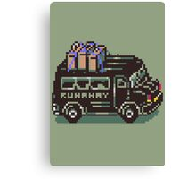 Runaway 5 (Tonzura Brothers) Bus - Earthbound Canvas Print