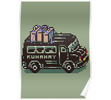 Runaway 5 (Tonzura Brothers) Bus - Earthbound Poster
