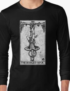 The Hanged Man Tarot Card - Major Arcana - fortune telling - occult Long Sleeve T-Shirt