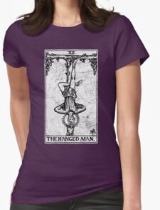 The Hanged Man Tarot Card - Major Arcana - fortune telling - occult Womens Fitted T-Shirt