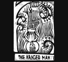 The Hanged Man - Tarot Cards - Major Arcana by graphixzone101