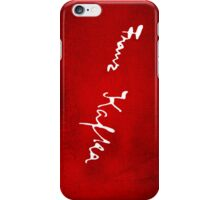 Franz Kafka Signature Tee iPhone Case/Skin