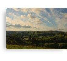 Glenelly Valley Canvas Print