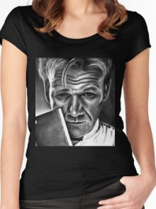 Gordon Ramsay Women's Fitted Scoop T-Shirt
