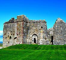 Weobley Castle, Gower, Wales by Prettyinpinks