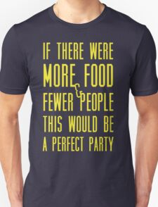 Ron Swanson perfect party T-Shirt