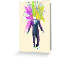 Shock to the system Greeting Card