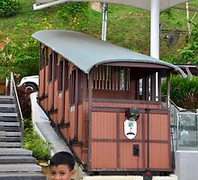 Old Train Replica by nurulazila