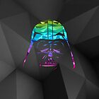 Darth Vader Geometric iPhone Case by hacketjoe