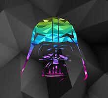 Darth Vader Geometric iPad Case by hacketjoe