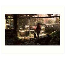 Ellie - The Last of Us Art Print