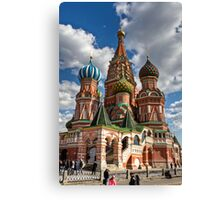 St. Basil's Russian Orthodox Cathedral Canvas Print