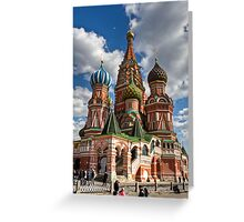 St. Basil's Russian Orthodox Cathedral Greeting Card