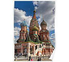 St. Basil's Russian Orthodox Cathedral Poster