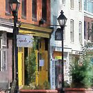 Baltimore - Quaint Fells Point Shreet by Susan Savad