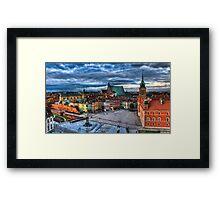 Warsaw Old Town Framed Print