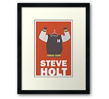Arrested Development, Steve Holt Illustration Framed Print