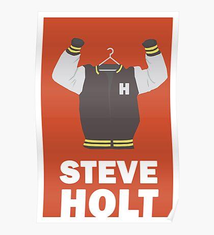 Arrested Development, Steve Holt Illustration Poster