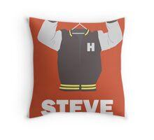 Arrested Development, Steve Holt Illustration Throw Pillow