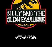 Billy and the Cloneasaurus Poster by thetruereaven