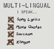 Cunnning Linguist - Klingon by Buleste