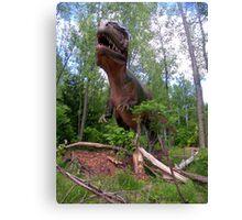 Giganotosaurus Dinosaur Canvas Print