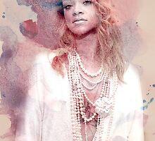 Rihanna by Kaneloart