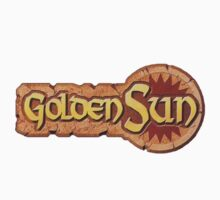 Golden Sun Logo by theguyontheleft