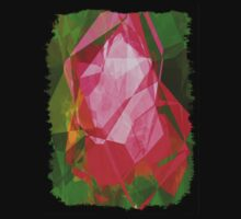 Pink Roses in Anzures 4 Abstract Polygons 1 Kids Clothes