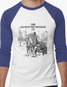 The Manhattan Brewing Company Men's Baseball ¾ T-Shirt