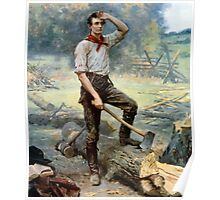 Abraham Lincoln -- The Rail Splitter Poster